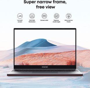 CHUWI Corebook Pro 15,6 Pouces Ultrabook Intel Core i5-8259U Windows 10 Jusqu'à 3,8 GHz, 1920 x 1080 IPS, 8G RAM 512G SSD, WLAN, USB 3.0, USB 3.0, HD, 69Wh