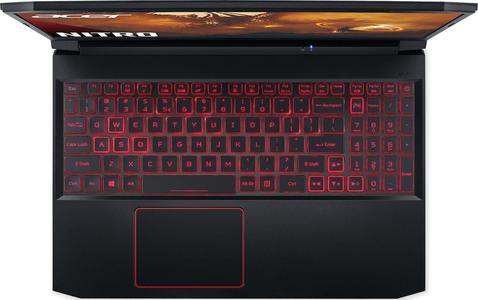 """Acer Nitro 5 (AN515-44-R3XX) 39,6 cm (15,6"""") Full HD IPS Mat de Jeu (AMD Ryzen 5 4600H, 8 Go DDR4 RAM, 512 Go PCIe SSD, NVIDIA GeForce GTX 1650, Win 10 Home) Noir/Rouge"""