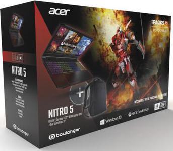 Gamer ACER Pack Nitro 5 AN517-52-54PM+Sac ¿ Dos