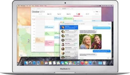 Apple MacBook Air Core i5 1.6 GHz OS X 10.12 Sierra 4 Go RAM 128 Go stockage flash