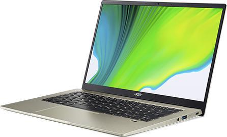 Acer Swift 1 ultrafin | SF114-34 | Argent