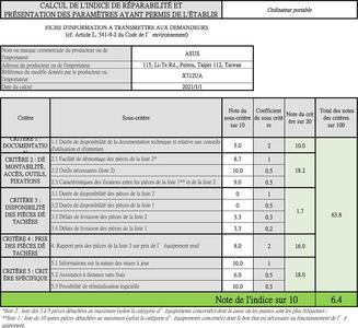 Asus Vivobook S M712UA-BX116T