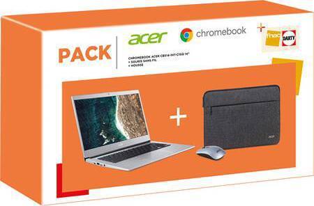 Pack Chromebook Acer CB514-1HT-C1SQ